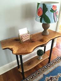 wood slice end table wood slab table full size of home table made out of tree slice wood