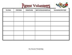 volunteer sign up sheet sogol co