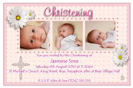 Christening And Birthday Invitation Card Invitation For Christening Layout Invitation Layout For