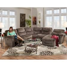 Fabric Sectional Sofa With Recliner by Reclining Sectionals Franklin Furniture