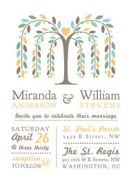 wedding invitations willow tree with at minted com