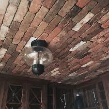 Brick Veneer Backsplash Attractive Interior Brick Veneer Panels - Brick veneer backsplash