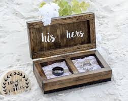 wedding rings in box oak ring box ring bearer box engagement ring box wedding