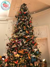 origami holiday tree 2016 american museum of natural history nyc