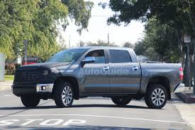 reinhardt lexus body shop 2018 toyota tundra spied again showing new front end autoguide