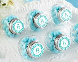 wedding favor jars personalized mini glass favor jar wedding favors by kate aspen