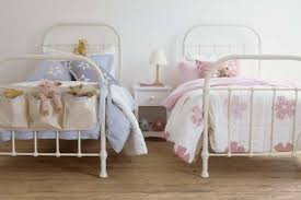 White Metal Bed Frame Single Metal Beds Junior Rooms