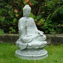 large garden ornaments granite thai buddha statue s s shop