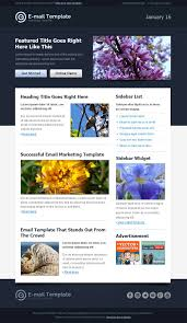 modern html email template free mail templates