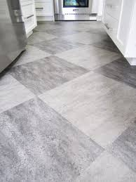 grey floor tiles white cabinets and slate appliances home