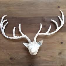 17 paper mache deer head diy instructions guide patterns