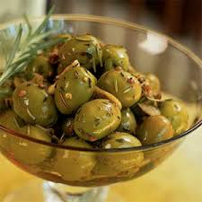 Indian Food Olives From Spain Marinated Olives Coriander Seeds Rolling Pin And Coriander