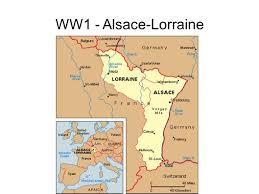 Alsace Lorraine Map Remains Of Prehistoric Peoples This Map Shows The Locations Where