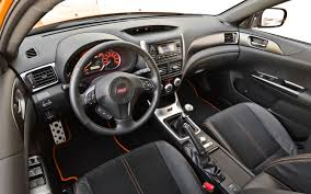 subaru hatchback 2014 2014 subaru wrx hatchback interior top auto magazine