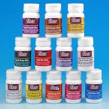 liquid shine metallic food paint