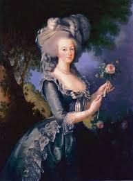 robe mari e 1783 antoinette holding a by élisabeth louise vigée