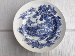 blue and white china antique china vintage wedgewood countryside