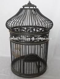 Decorative Bird Cages Wholesale Vintage Bird House Manufacture Square Metal Handmade Big Bird Cage