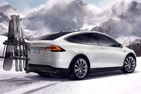 tesla outside tesla u0027s entry level model x gets more range and a higher base price
