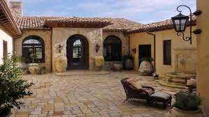 Courtyard Homes Floor Plans by House Plans Mediterranean Courtyard Youtube