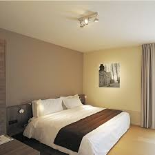 eclairage de chambre chambre applique dio flex plate l40 cm chrome