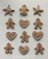 Simple Homemade Christmas Ornaments To Make Gingerbread Clay Recipe For Ornaments The Imagination Tree