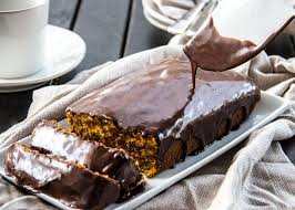 chocolate glazed pumpkin cake the scrumptious pumpkin
