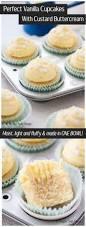 perfect vanilla cupcakes with custard buttercream sugar salt magic