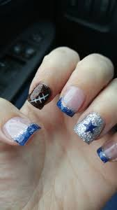 cute for football season nails pinterest football season