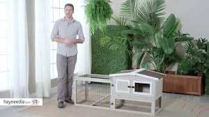 Advantek Stilt House Rabbit Hutch Boomer U0026 George Bungalow Rabbit Hutch With Run Product Review