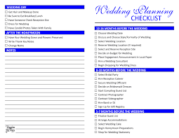 wedding checklist wedding planning checklist