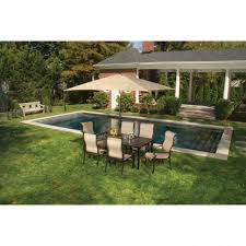 Affordable Patio Dining Sets Outdoor 8 Piece Garden Furniture Set 7 Piece Patio Dining Set