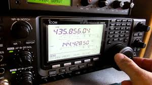 ic 9100 first ever sat rx youtube