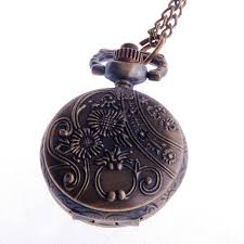 necklace pendant watch images Ladies pocket watch pendant necklace small face jpg