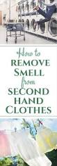 how to get smell out of clothes green laundry hack
