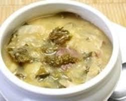 cuisiner le chou recette soupe aux deux choux