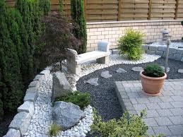 Gartengestaltung Mit Steinen Und Grsern Modern Deko Garten Modern Haus Design Ideen