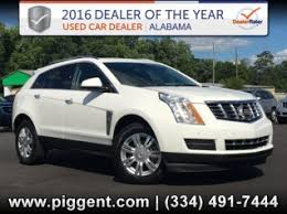 cadillac srx dealers used cadillac srx for sale in auburn al 3 used srx listings in