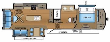Jayco Travel Trailers Floor Plans by Jayco North Point Rvs For Sale Camping World Rv Sales
