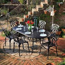 White Cast Iron Patio Furniture Best 25 Cast Aluminium Garden Furniture Ideas On Pinterest