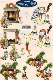 607 best decoupage xmas winter images on pinterest 3d cards