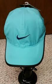 nike hat dri fit feather light cap unisex dri fit featherlight tennis cap hat aqua blue color 405