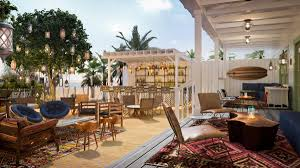 living room with a view l a nightlife guru to open the bungalow