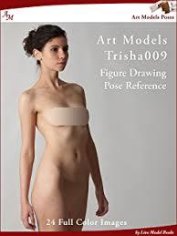 art models ginger040 figure drawing pose reference art models