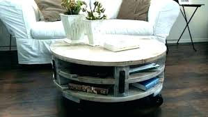 how to decorate a round coffee table diy rustic coffee table ideas bookmarkinbox info