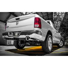 2014 dodge ram 1500 bumper magnaflow 15253 ram 1500 cat back exhaust system 2 5 dual rear