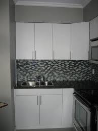 kitchen good looking l shape kitchen design using grey melamine