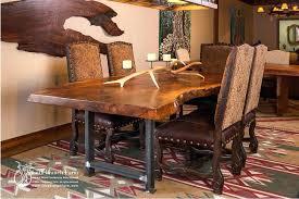 rustic metal and wood dining table industrial modern dining table u shaped metal legs what we make wood
