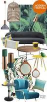 Tropical Design Moodboard Modern Tropical Interior Design Design Lovers Blog
