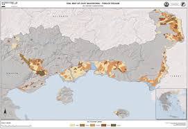 Thessaloniki Greece Map by National Soil Maps Eudasm Esdac European Commission
